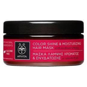 Apivita Color Shine   Moisturizing Hair Mask with Sunflower   Honey 200ml 629fc0cf771